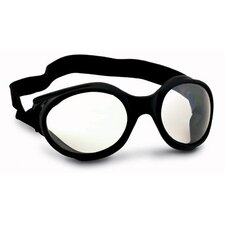 UFO Galaxis Direct Vent Goggles With Black Frame, Gray Lens And Foam Liner