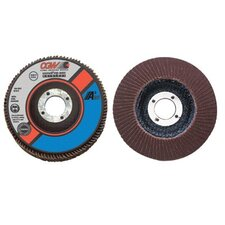 "Flap Disc, A3 Aluminum Oxide, Regular - 4-1/2"" x 5/8-11 type 27a cubed flap disc 120 gr"