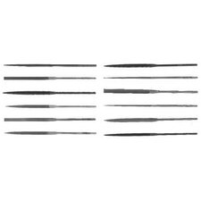 "X.F® Swiss Pattern Thin Rectangular Needle Files - 4"" rhn-0 flat needle file"