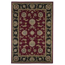 Cambridge Red/Black Bijar Rug