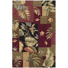 Sparta Jeweltone Foliage Views Rug