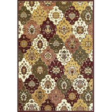 Cambridge Jewel Tone Panel Rug