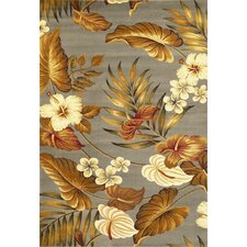 Lifestyles Slate Tropical Rug