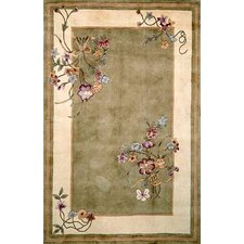 Ruby Sage Bouquet Rug