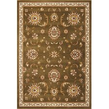 Cambridge Green Allover Mahal Rug