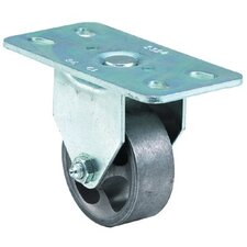 Light-Medium Duty Casters - 2-1/2x1 light-med duty at plate rigid caster