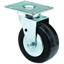 Medium-Heavy Duty Rigid Casters - 4x2 med hvy duty 90 plate swivel caster