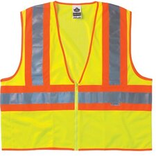Ergodyne - Glowear 8230Z-Is Class 2 Vest W/Insect Shield Glowear 8230Z-Is Cl 2 Vst W/Insect Shld 2-3Xl Lm: 150-21277 - glowear 8230z-is cl 2 vst w/insect shld 2-3xl lm