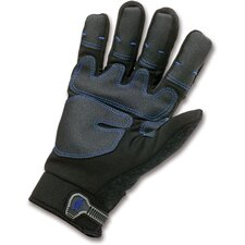ProFlex 818WP Thermal Waterproof Utility Gloves in Black