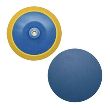 8 Medium Psa Sanding Pad 5/8-11 Thread