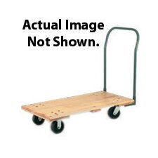 "WD Series 24"" X 48"" Hardwood Platform for Hand Truck"