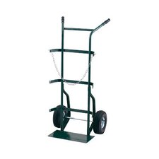 "700 Series Cylinder Hand Truck For Medium To Large Cylinders With 10"" Pneumatic 2-Ply Tires"