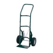 "Series Cylinder Hand Truck For Medium To Large Cylinders With Stair Crawler And 10"" Pneumatic 2-Ply Tires"