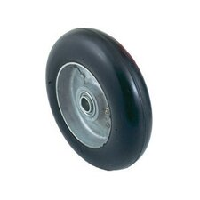 "8"" X 2 1/4"" Mold-On Balloon Rubber, Ball Bearing Wheel"