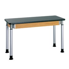 Adjustable Height Science Table With Plastic Laminate Top