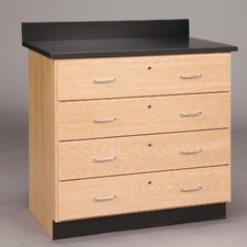 Base Cabinet With Four Drawers