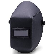 "400 Vulcanized Fiber Welding Helmet With 117A Headgear And 2"" X 4 1/4"" Aluminum Rigid Lens Holder"