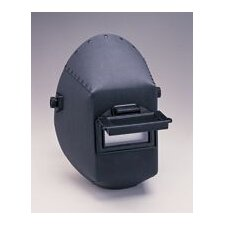 "400 Vulcanized Fiber Welding Helmet With 117A Headgear And 2"" X 4 1/4"" Plastic Lift Front Lens Holder"