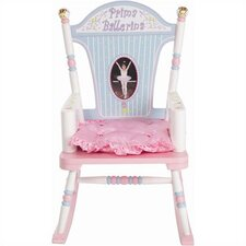 Rock A Buddies Prima Ballerina Kid Rocking Chair