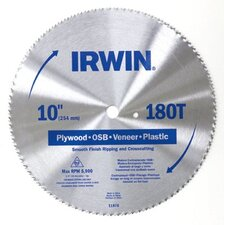 Irwin Steel Circular Saw Blades - 7-1/4  st cd cir bl plyw