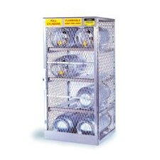 "1/2"" X 30"" X 32"" 4 Cylinder Horizontal Storage Locker For Flammables"