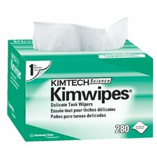 "Kimtech Science® Kimwipes® Delicate Task Wipers - 4.5""x8.5"" white kimwipesex-l 1-ply 280/b"
