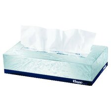Kleenex Facial Tissues, Pop-Up Box in White