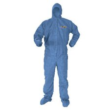Kleenguard A60 4X-Large blood borne Pathogen Protection Apparel in Blue