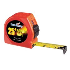 "K-73 Series Power Tapes - 1""x25' steel power tapeorange case"