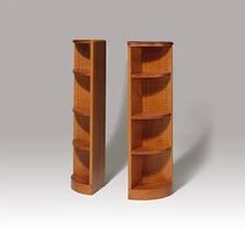 "200 Signature Series 48"" H Four Shelf Quarter Round Bookcase"