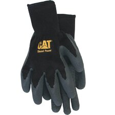 Extra Large Cotton Latex Coated Palm Gloves CAT01