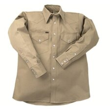 950 Heavy-Weight Khaki Shirts - la ls-15 1/2 m 950 khaki