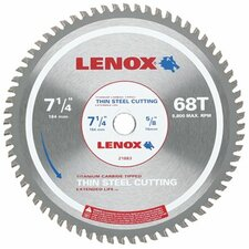 "Metal Cutting Circular Saw Blades - 7-1/4"" 68t thin steel metal cutting saw blade"