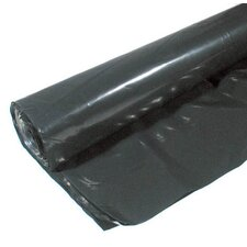 10' X 50' 4 ML Polyethylene Black Plastic Sheeting CF0410-50B