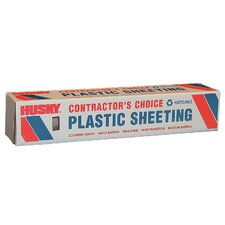 16' X 100' 4 ML Polyethylene Clear Plastic Sheeting CF0416C
