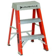FS1500 Series Fiberglass Step Ladders - 2' advent folding step ladder type ia