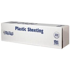 12' X 400' 0.7 ML Painter Clear Plastic Sheeting CFHK00712-400C
