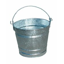 Galvanized Pails - 2qt galvanized mini pail(bar code 70004)