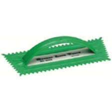 "Notched Trowels - 3/8x5/16"" plastic v notched trowel"