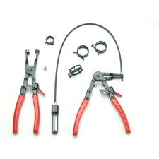 2Pc Hose Clamp Plier Set
