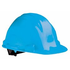 Peak Hard Hats - red a-safe safety cap w/ratchet & 4-point s