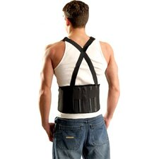 Mustang Back Supports w/Suspenders - s mustang back support w/sus