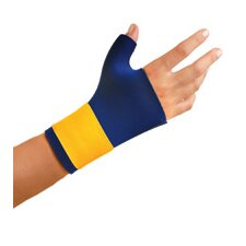 Navy Neoprene Thumb And Wrist Support