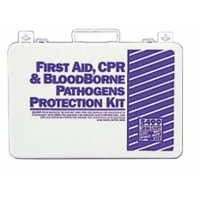 36 Unit Steel First Aid Kits - 36 unit first aid/bbp kit