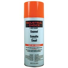 Rust-Oleum - Industrial Choice 1600 System Enamel Aerosols 830 Fluorescent Orange Paint 12Oz. Fill Wt.: 647-1654830 - 830 fluorescent orange paint 12oz. fill wt.