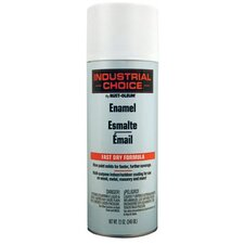 Rust-Oleum - Industrial Choice 1600 System Enamel Aerosols 830 Flat White Ind. Choice Paint 12Oz. Fil. Wt.: 647-1690830 - 830 flat white ind. choice paint 12oz. fil. wt.