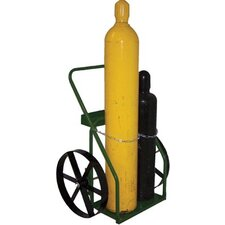 "800 Series Carts - cart with sc-13 wheels 21"" cylinder capacity"