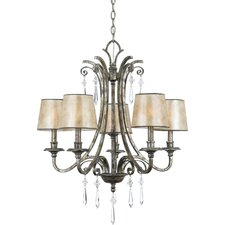 Kendra 5 Up Light Chandelier