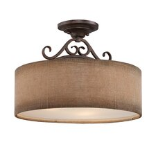 Carlsbad 3 Light Semi-Flush Mount