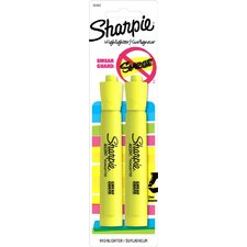 Fluorescent Accent Tank Style Highlighter (2 Pack)